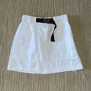 LF carmar buckle cargo mini skirt